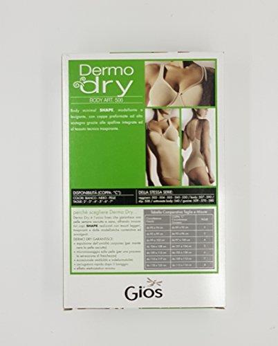 DERMO Bianco BODY GIOS ART DONNA DRY 506 zgEnWnw6vq