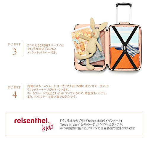 - IL3064 Reisenthel Valise Rouge Cats and Dogs Rose