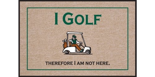 High Cotton Golf Therefore Doormat