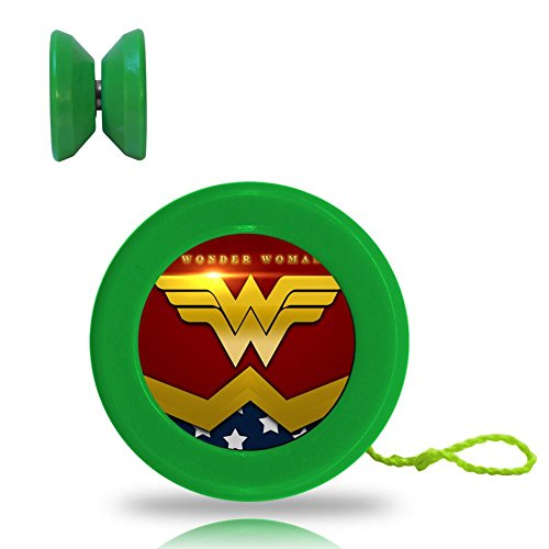 [Wonder Woman Patriotic Poster Responsive YoYo King with Ball Bearing Axle and Extra String Green] (All Costumes For God Of War 3)