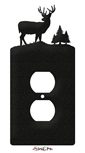 SWEN Products DEER BUCK WILDLIFE Wall Plate Cover