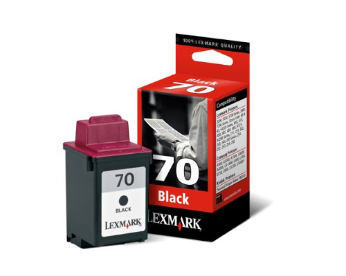 (Lexmark 12A1970 70 OEM Ink Cartridge: Black Yields 600 Pages)