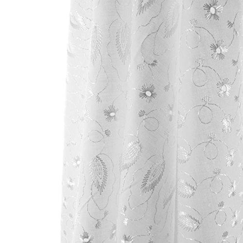 White Cotton Curtains: Amazon.com