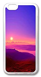 ACESR Colorful Sunrise Stylish iPhone 6 Cases, TPU Case for Apple iPhone 6 (4.7inch) Transparent