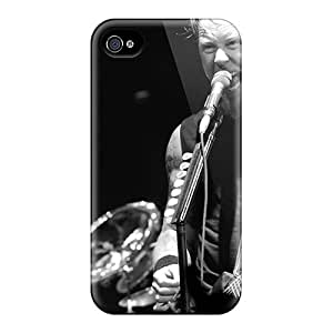 For CasePete Iphone Protective Case, High Quality For Iphone 4/4s Metallica James Hetfield Hd Skin Case Cover