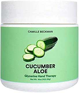 product image for Camille Beckman Glycerine Hand Therapy Cream, Cucumber Aloe, 16 Ounce