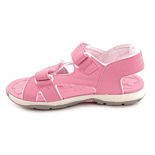 Timberland Adventure Seeker Two-Strap Sandal (Toddler/Little Kid) Pink/White Zs5MR9L6i