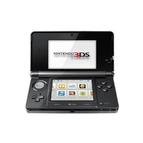 Image of 3DS Handheld Game Console Black,Includes Nintendo 3DS, AC Adapter, Stylus, 2GB SD Memory Card, and 6 AR Cards Consoles