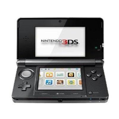 3DS Handheld Game Console Black,Includes Nintendo 3DS, AC Adapter, Stylus, 2GB SD Memory Card, and 6 AR Cards (Nintendo 3ds Purple Console)