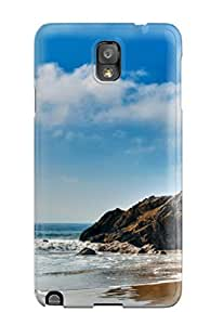 For Galaxy Case, High Quality Coastline For Galaxy Note 3 Cover Cases