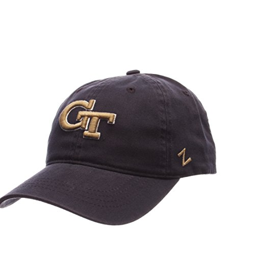 ZHATS Georgia Tech Yellow Jackets Scholarship Relaxed Fit Dad Cap - NCAA, Adjustable One Size Navy Baseball Hat