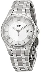 Tissot Women's T-Lady Mother of Pearl Dial Stainless Steel Watch T0722101111800