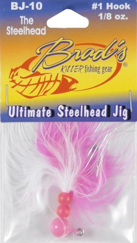 Brad's Jig Lure - The Steelhead, 1/8 oz, (Steelhead Jig Fishing)