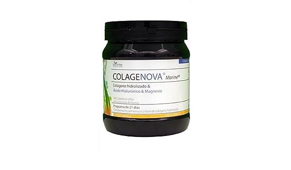 Colagenova Marine con Colágeno, Hialurónico y Magnesio (sabor Melocotón) 275 gr (para 21 días) de Vaminter: Amazon.es: Salud y cuidado personal