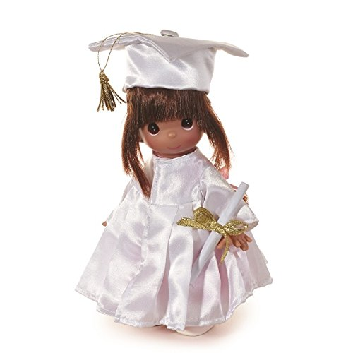 Precious Moments Dolls by The Doll Maker, Linda Rick, My Precious Graduate, Brunette, 9 inch Doll