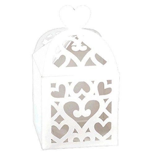 Lantern Favor Boxes - White
