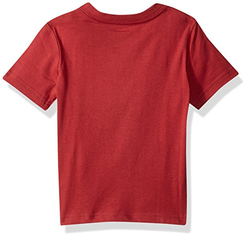 Gymboree Toddler Boys' Short Sleeve Travel Print Tee, Soft Red, 18-24 Mo by Gymboree (Image #2)