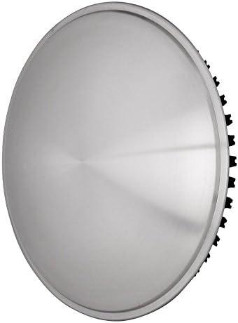 Oldtimer Moon Caps f/ür PKW ~ 1 St/ück 15 Zoll aus Edelstahl Universell passende Radzierblende