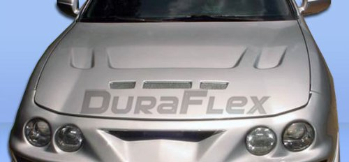 Duraflex Replacement for 1994-2001 Acura Integra Predator Hood - 1 Piece ()