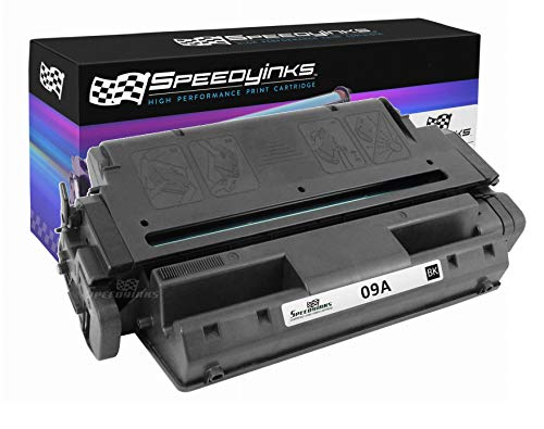 - Speedy Inks Remanufactured Toner Cartridge Replacement for HP 09A (Black)
