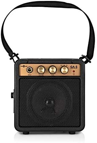 Belcat Mini Amplificador de Guitarra Negro: Amazon.es ...