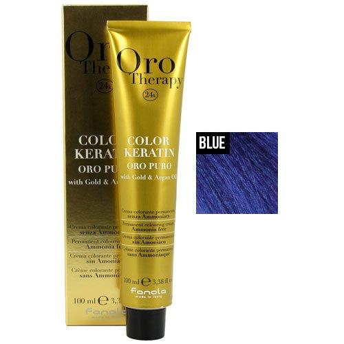 Fanola Oro Puro Blue Intensifier Coloring Cream Blue Intensifier