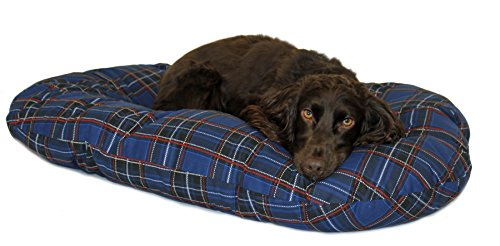 Cosipet Dog Basket Liner Tartan Red 46cm