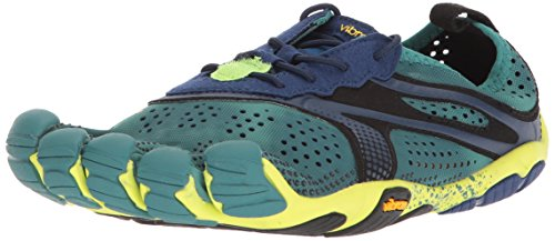 Vibram Men's V-Run North Sea/Navy Shoe, 41 EU/8.5-9.0 M US D EU (41 EU/8.5-9.0 US US)