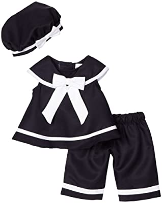 Rare Editions Baby-Girls Infant Nautical Capri Set by Rare Editions Baby