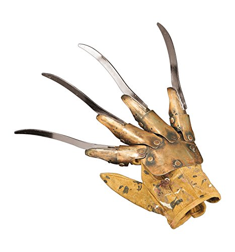 [A Nightmare on Elm Street, Supreme Edition Freddy Replica Metal Glove] (Horror Costumes For Kids)