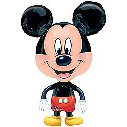 anagram international Mickey Mouse globo Buddy aire andador, Multicolor