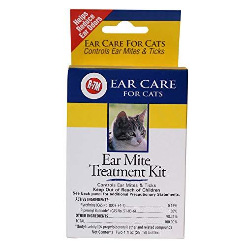 R-7M Ear Mite Cat Treatment Kit 1oz.