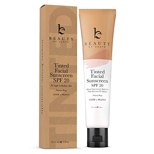 Tinted Facial Sunscreen Protection Foundation product image