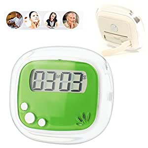 Digital Timers, NOVPEAK Digital Kitchen Timer Cooking Timers Clock with Alarm Magnetic Back and Stand, Minute Second Count Up Countdown, Large LCD Display