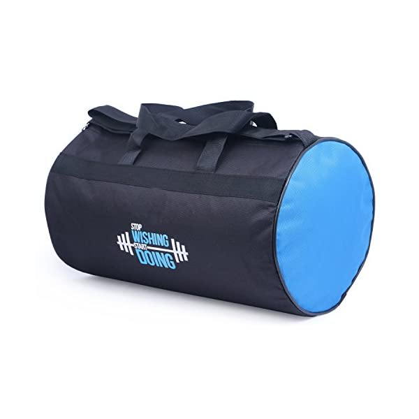 Polyester Gym Bag with Sport Sipper and Gloves 4