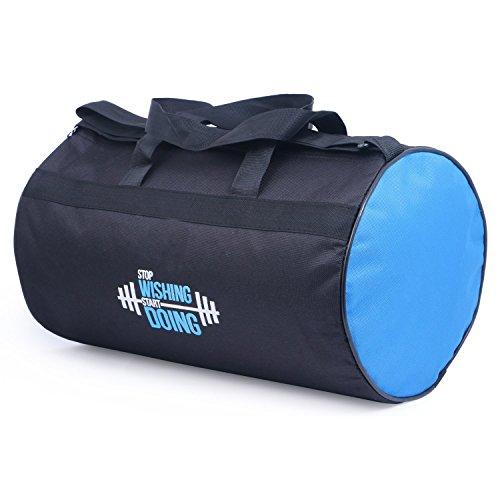 VELLORA Polyester Long Lasting Material, Duffel Bag , Gym Bag Blue