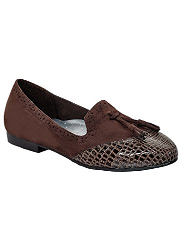 Angelsteps Donna Adulto Angelo Passi Taylor Abito Casual Marrone
