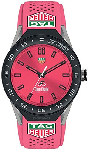 TAG Heuer Connected Modular 45 Giro D'italia Limited Edition Smartwatch SBF8A8026.11EB0140 ()