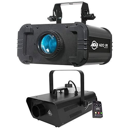 American DJ H2O IR LED Water Flowing 5 Colors Light Effect w/Chauvet Fog Machine
