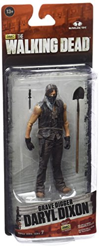 McFarlane Toys The Walking Dead TV Series 7 Exclusive Grave Digger Daryl Dixon Action Figure - Exclusive Mcfarlane Toy