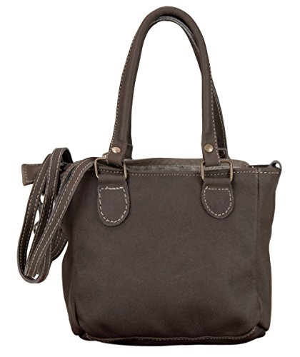 DOMELO TRACHT Taschen, Borsa a tracolla donna marrone marrone