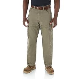 Wrangler 3W060 Men\'s Ranger Pant, Bark - 58-34