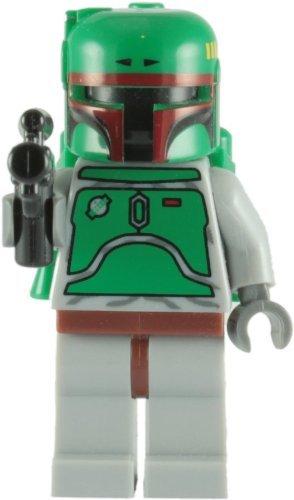 (LEGO Star Wars: Boba Fett Minifigure with Blaster Rifle)