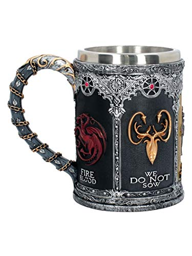 GAME OF THRONES SIGIL TANKARD 14CM -