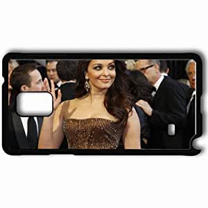 Personalized Samsung Note 4 Cell phone Case/Cover Skin Aishwarya Rai Black