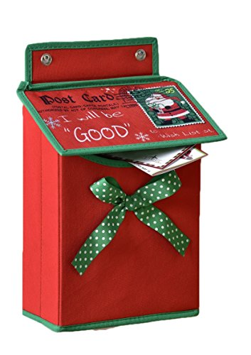 Letters for Santa Wall Hanging Mailbox