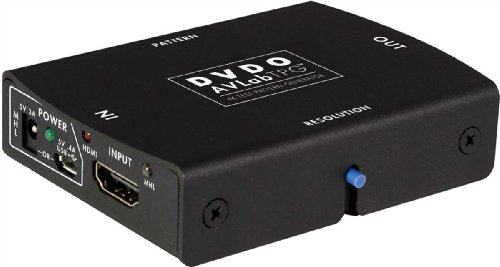 AVLab TPG 4K Test Pattern Generator (UHD Video Generator HDMI 2.0) - with EU - Generator Pattern Hdmi