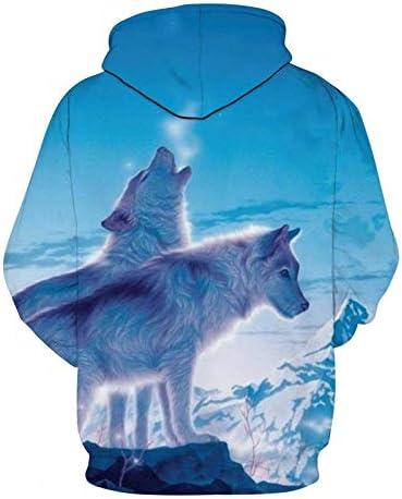 Sweatshirts Tops T-Shirts Kapuzenpullover Malerei 3D-Druck Frauen/Männer Casual Kapuzenpullover Mode^ Picture_Color_XXL