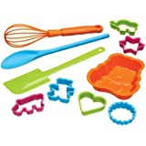 Kitchen Craft Let's Make Baking Set, Multi-Colour, 10-Piece