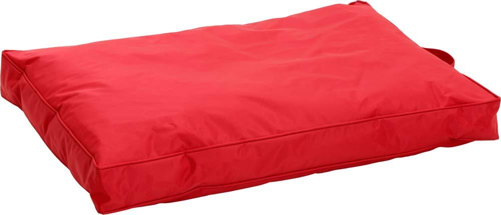 70 cm Flamingo No Limit Teflon Dog Cushion, 60 cm, Red